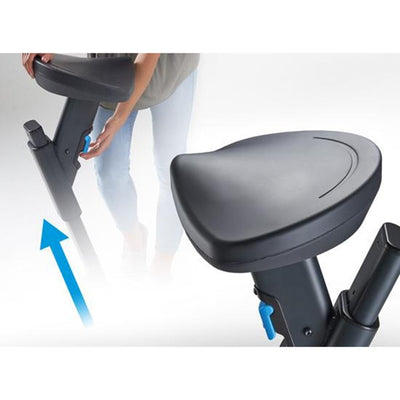 Lifespan Solo Under Desk Bike Adjustable Seat