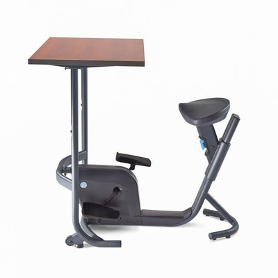 Lifespan Unity Bike Desk Side View