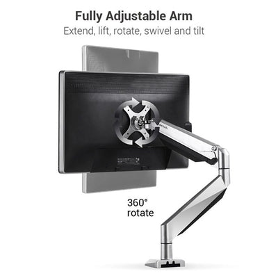 Loctek D7A Monitor Arm 360 Rotate