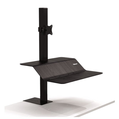 Lotus VE Sit Stand Workstation 3D View