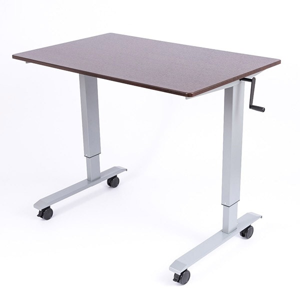 Luxor 48 Crank Adjustable Stand Up Desk 3D View