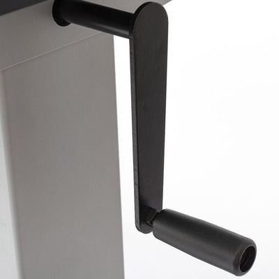 Luxor 48 Crank Adjustable Stand Up Desk Crank Close Up