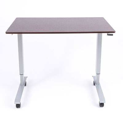 Luxor 48 Crank Adjustable Stand Up Desk Front View