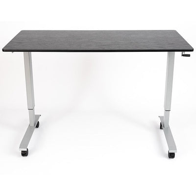 Luxor 60 Crank Adjustable Stand Up Desk Front View