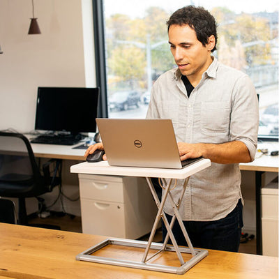 Rocelco PDR Portable Desk Riser Standing