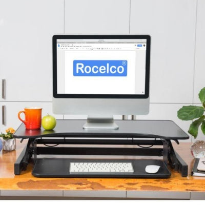 Rocelco ADR Adjustable Desk Riser Front View