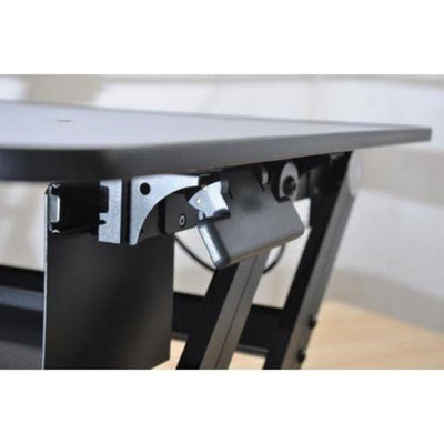 Rocelco DADR Deluxe Adjustable Desk Riser Height Lever