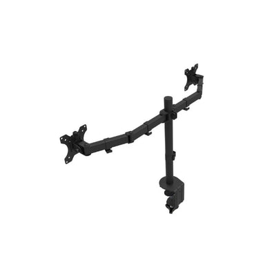 Rocelco DM2 Dual Monitor Arm Back Side View