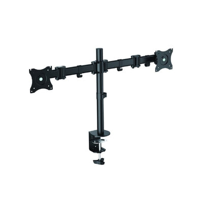 Rocelco DM2 Dual Monitor Arm Front Side View