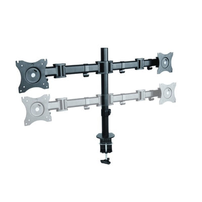 Rocelco DM2 Dual Monitor Arm Height Settinng