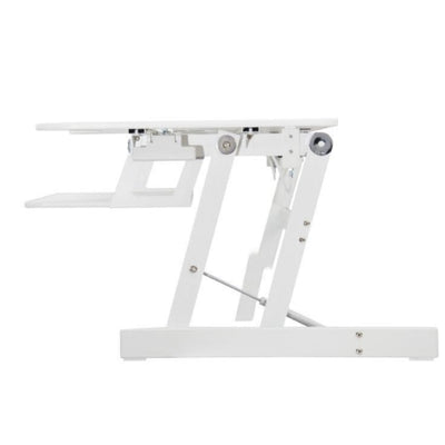 Rocelco EADR Ergonomic Adjustable Desk Riser Side View