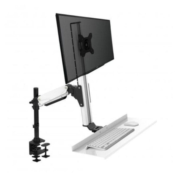 Rocelco EFD Ergonomic Sit to Stand Floating Desk Single Screen