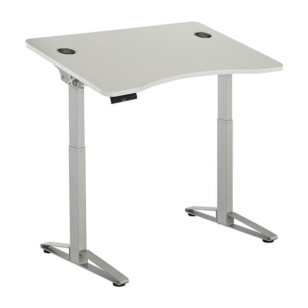 Safco Defy Electric Height Adjustable Desk 3D View Lower