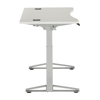 Safco Defy Electric Height Adjustable Desk Side View