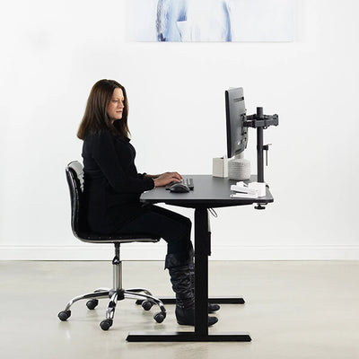 VIVO 47 Inch Pneumatic Desk Sitting