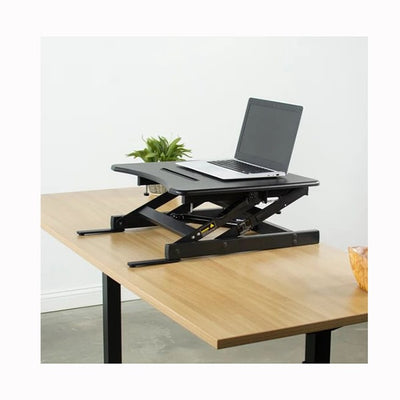 VIVO Single Top 22 Laptop Desk Riser Top Front Side View
