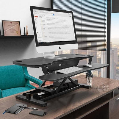 VersaDesk Power Pro 48 inch Electric Standing Desk Converter 3D View