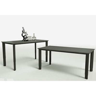 Vivistand Quattro Lab Edition Anti-Static ESD Top 3D View And Side View