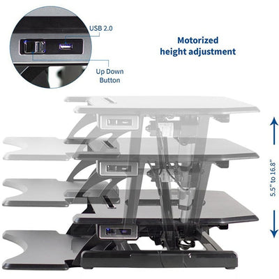 Vivo Desk V000ME  Height Setting