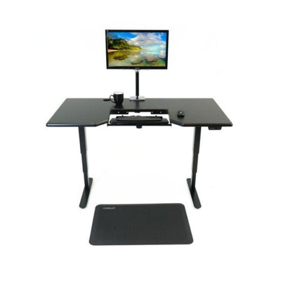 iMovR Cascade Standing Desk Front View Black
