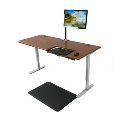 iMovR Cascade Standing Desk Top Front Side View