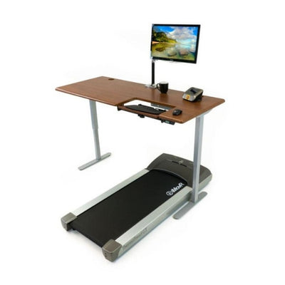 iMovR Cascade Standing Desk With Treadmill
