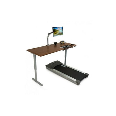 iMovR Cascade Treadmill Desk Workstation 3D View Facing Right