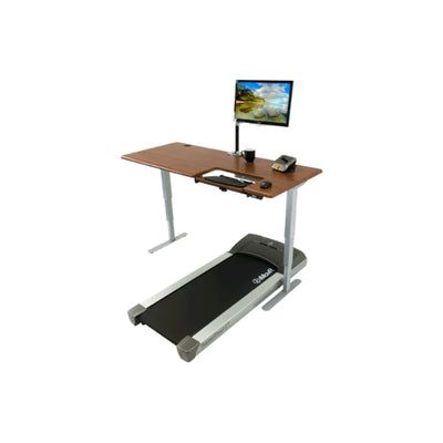 iMovR Cascade Treadmill Desk Workstation 3D View Fcaing Left
