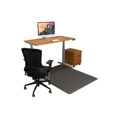iMovR Ecolast Hybrid Standing Desk Chair Mat With Desk