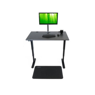 iMovR Energize Standing Desk Front View Black