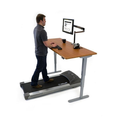 iMovR Energize Standing Desk Standing Facing Left