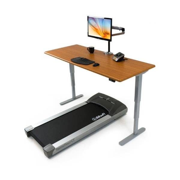 iMovR Energize Treadmill Desk Workstation 3D View