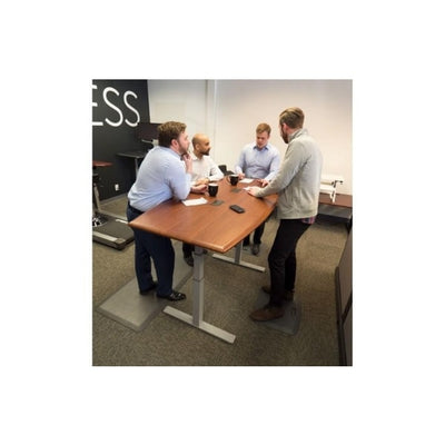 iMovR Synapse Boat Adjustable Height Conference Table 3D View