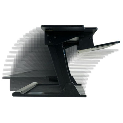 iMovR ZipLift HD 42 inch Standing Desk Converter Height Setting