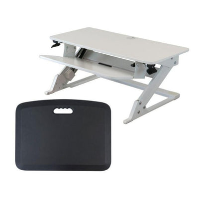 iMovR ZipLift+ Standing Desk Converter White