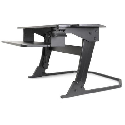 iMovR Ziplift+ Corner Standing Desk Converter Front Side View