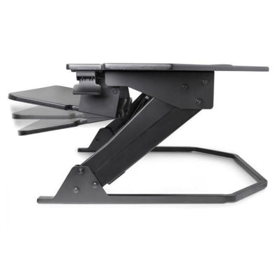 iMovR Ziplift+ Corner Standing Desk Converter Keyboard Tray Adjustable