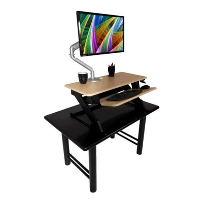 iMovR Ziplift Patriot Light Maple Top Of Desk