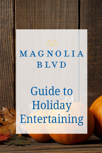 Let us help you entertain this holiday.