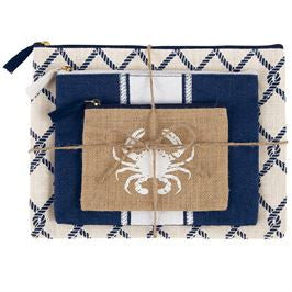 Crab Jute Case Trio