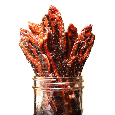 Curly Tail Candied Bacon