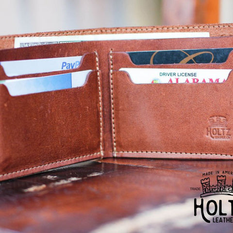 The Big Dixie Fine Leather Wallet