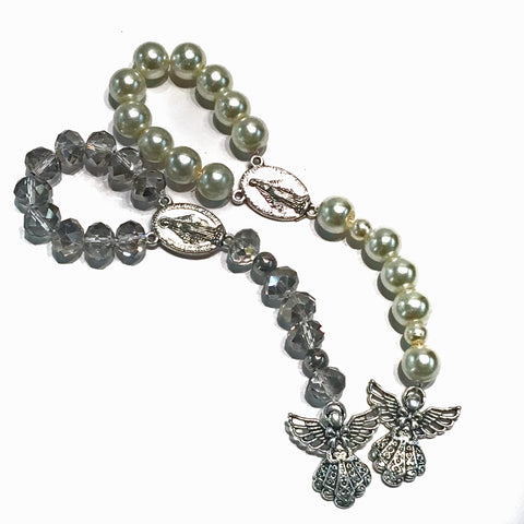 Guardian Angel Single Decade Hand Rosaries