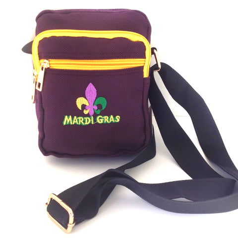 Mardi Gras Crossbody Bag - Stadium Approved