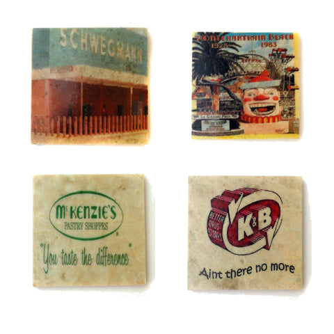 New Orleans Nostalgia Coaster Set