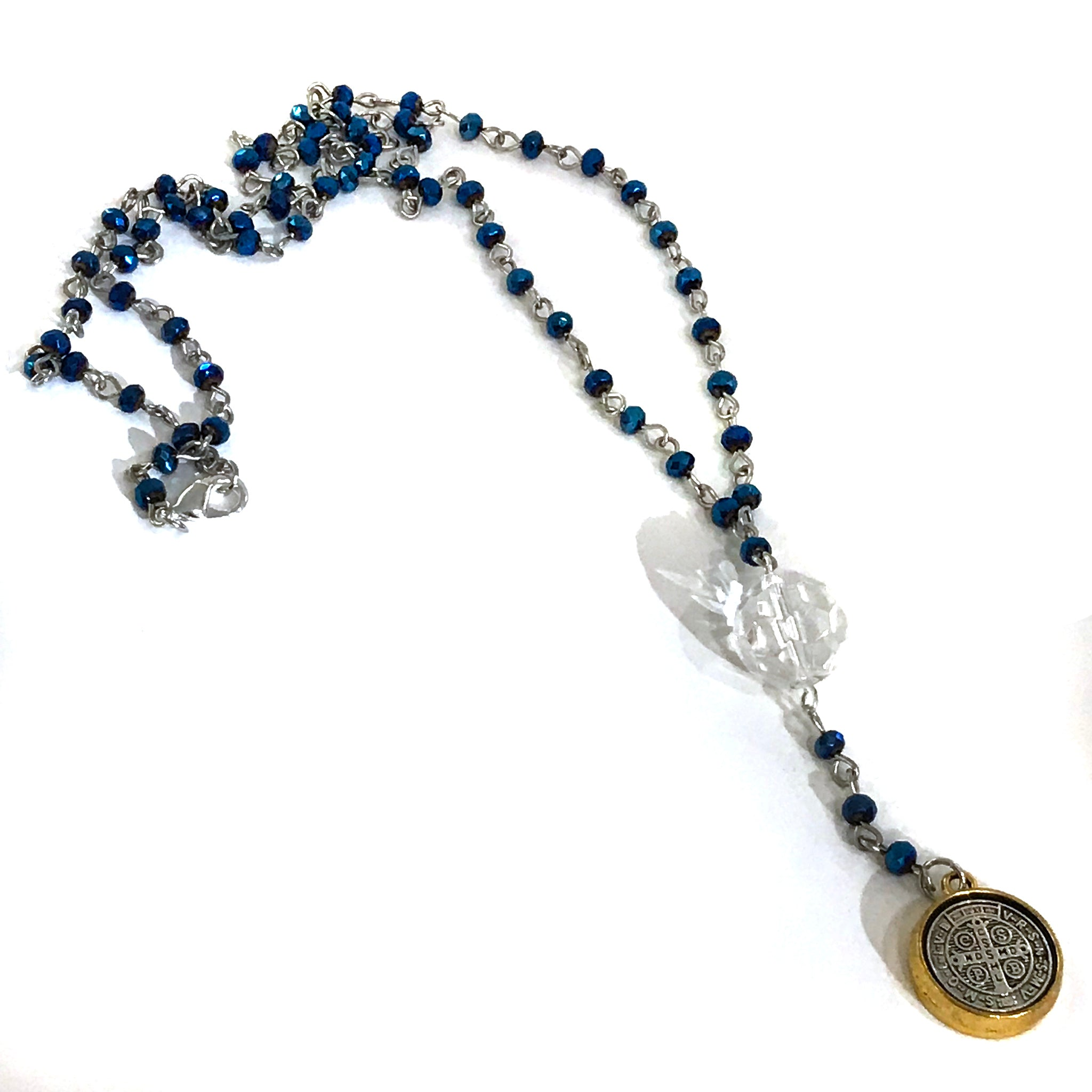 featuring necklace blue atelier handmade buttons bead beaded products ceramic necklaces