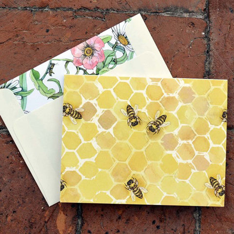 Beehive Notecards