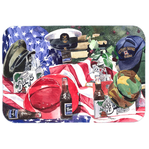 Barq's and Armed Forces Glass Cutting Board