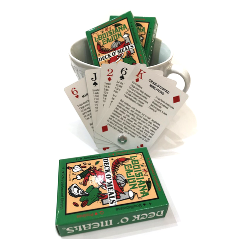 Deck O'Meals Recipe Deck of Cards - Cookbook