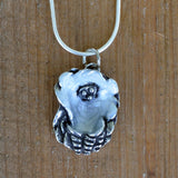 Mini Enameled Oyster Necklace